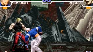 getlinkyoutube.com-KOF 2002 Yashiro VS Rugal II