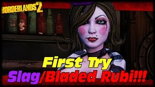 getlinkyoutube.com-Zero Gets A Slag Bladed Rubi On First Try!!! Borderlands 2 Perfect Rubi On First Try Live!!!