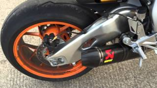 getlinkyoutube.com-2015 CBR1000RR SP FULL AKRAPOVIC RACING CONICAL EXHAUST SOUND!!!