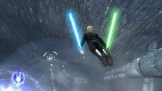 getlinkyoutube.com-Star Wars: The Force Unleashed 2 - Evolution Mod - Luke Skywalker Gameplay