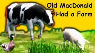 getlinkyoutube.com-Old MacDonald Had a Farm | Family Sing Along - Muffin Songs