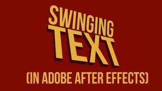 getlinkyoutube.com-Swinging Text (motion typography technique) Tutorial