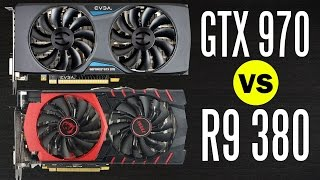 getlinkyoutube.com-MSI R9 380 vs EVGA GTX 970 - Graphics Card Comparison