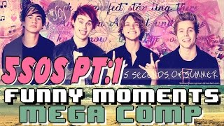 5 Seconds of Summer 5SOS Funny Moments Crack Humor MEGA COMP Pt:1