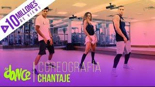 getlinkyoutube.com-Chantaje - Shakira ft. Maluma - Coreografía - FitDance Life