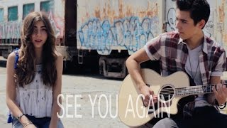 Wiz Khalifa - See You Again (Kyson Facer Acoustic Cover Ft. Jada Facer)
