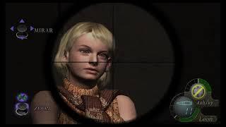 Calzón (ropa interior)de Ashley Resident Evil 4 PS4 HD parte 2