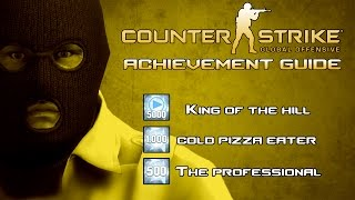 getlinkyoutube.com-CS:GO Rarest Achievements Guide | King of the Kill, Cold Pizza Eater & The Professional