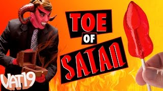 getlinkyoutube.com-World's Spiciest Lollipop is The Toe of Satan