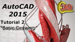 getlinkyoutube.com-AutoCAD 2015 tutorial 2: Basic Drawing