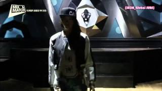 getlinkyoutube.com-KS9 - Bobby perform at YG Family Party @ MIX & MATCH Episode 7 [HD EngSub l 141023]