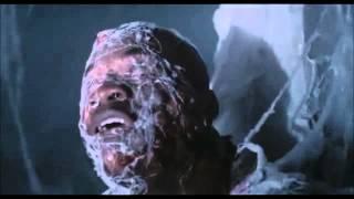 getlinkyoutube.com-The Mist .... Huge Spiders Attack Men In Pharmacy ( Scene )