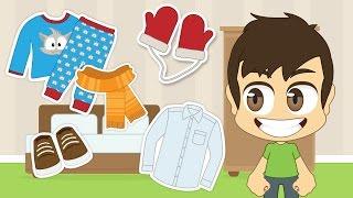 getlinkyoutube.com-Learn Clothes in Arabic for Kids - تعلم اسماء الملابس باللغة العربية للأطفال
