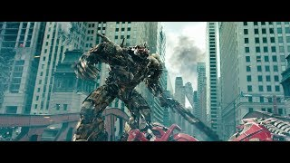 getlinkyoutube.com-Transformers Dark of the Moon Megatron Vs Sentinel Prime (Blu-ray) Edition