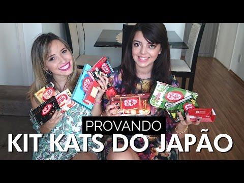 Sabores diferentes de Kit Kat do Japão | Taciele Alcolea e Lia Camargo