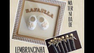 getlinkyoutube.com-DIY: Porta Maternidade e Lembrancinha