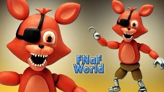 getlinkyoutube.com-FNaF World ★ Adventure Foxy Tutorial - Porcelana fria ★ Polymer clay ★ Plastilina (REUPLOAD)