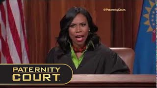 "getlinkyoutube.com-Judge Lake Sets These Litigants Straight On ""Paternity Court"" Today!"