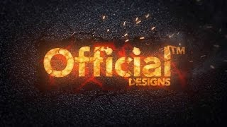 THIS INTRO IS ON FIRE - My New After Effects Intro