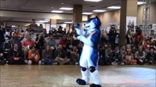getlinkyoutube.com-Kai (2nd, Veteran) - BLFC 2015 Fursuit Dance Competition