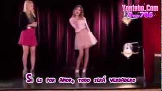 getlinkyoutube.com-Violetta 2   Si Es Por Amor Karaoke Oficial De Disney