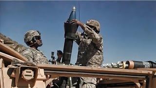 getlinkyoutube.com-M106A3 Mortar Carrier & Crew In Action