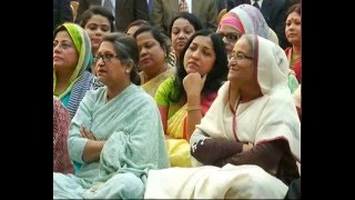 getlinkyoutube.com-Tea party of Prime Minister Shaikh Hasina with eminent persons
