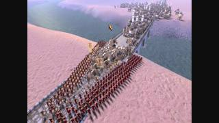 getlinkyoutube.com-300 Spartans vs 1,200 Armored Elephants