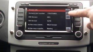VW Radio RNS 510 Firmware Update 5274 , Aktualizacja nawigacji ,systemu ,soft