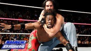 getlinkyoutube.com-The Miz & Kofi Kingston vs. Luke Harper & Erick Rowan: SmackDown, Oct. 18, 2013