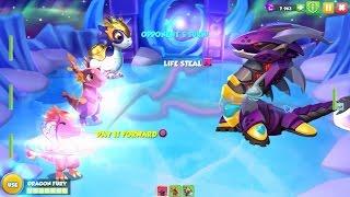 getlinkyoutube.com-Fight to get MECH Dragon - Dragon Mania Legends