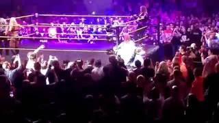 Asuka makes her entrance at #NXTLiverpool