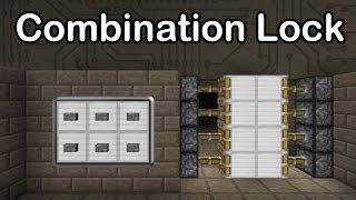 getlinkyoutube.com-Minecraft Combination Lock - 1000 Subscribers Special (Compact, Secure, Extendable)