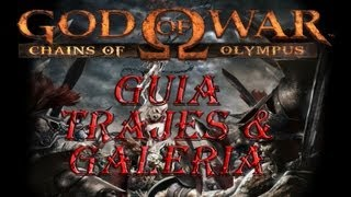 getlinkyoutube.com-Guia God Of War Chains Of Olympus | Trajes Alternativos y Secretos | Parte 16 Final en Español