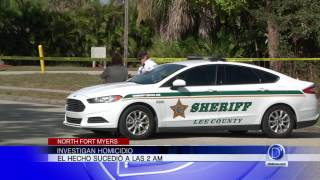 Investigan homicidio en North Fort Myers