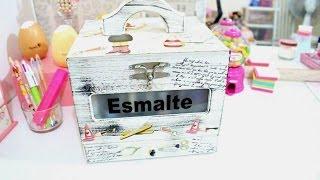 getlinkyoutube.com-Como eu organizo os meus esmaltes ♥