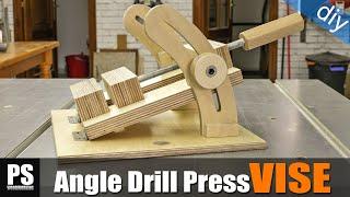 getlinkyoutube.com-Homemade Angle Drill Press Vise