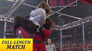getlinkyoutube.com-FULL-LENGTH MATCH - Raw - Kane vs. Mankind - Hell in a Cell