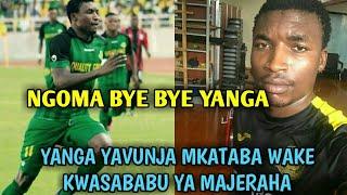 Breaking:Yanga yavunja mkataba na Donald Ngoma