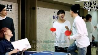 getlinkyoutube.com-[ENG]150605 STARCAST: BTS' Lucky Draw - EP 4 (Table Tennis)