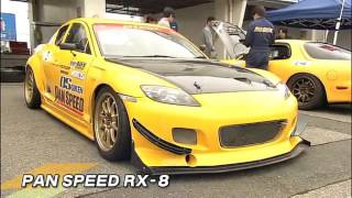 getlinkyoutube.com-Hot Version Vol 112 RX-7 & RX-8 Tsukuba Battle + Touge Street