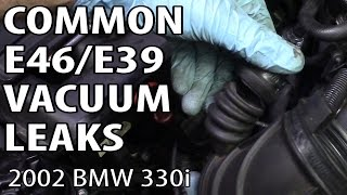 getlinkyoutube.com-BMW E46 & E39 Most Common Vacuum Leaks P0171 & P0174