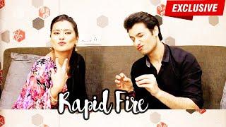 getlinkyoutube.com-Sharad Malhotra & Kratika Sengar's CRAZY Rapid Fire