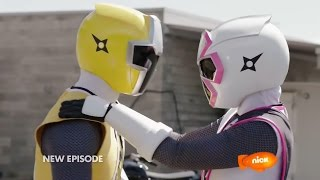 "getlinkyoutube.com-Power Rangers Ninja Steel Episode 5 ""Drive to Survive"" - Power Rangers vs Tangleweb Morph and Fight"
