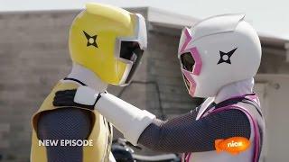 "getlinkyoutube.com-Power Rangers Ninja Steel Episode 5 ""Drive to Survive"" - Power Rangers vs Tangleweb Morph and Fight"