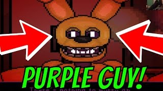 getlinkyoutube.com-PURPLE GUY DEATH SCENE!! || SUPER FNaF ★ Night 1 ★