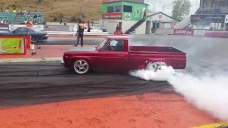 Mazda R.E.P.U. Pre-stage burnout