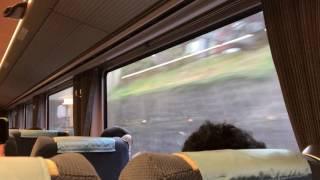 getlinkyoutube.com-【一番列車】ロマンスカーEXEα はこね41号新宿発車後車内放送