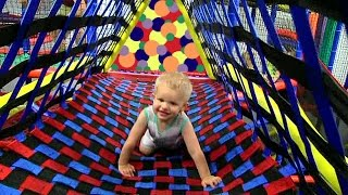 getlinkyoutube.com-Mount Playmore HUGE Indoor Playground