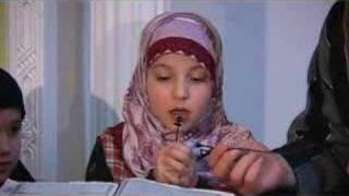 getlinkyoutube.com-So Cute! Muslim German Girl Recites Quran Ch. 88